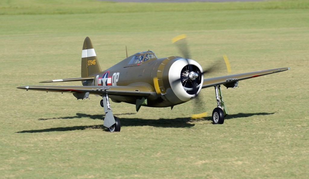Road to Top Gun Scale RC Eduardo Esteves P-47 Thunderbolt Razorback Radio Control