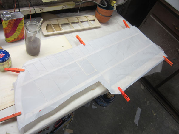 How To Cover Wings with Fabric — 1/4-Scale Sopwith Camel