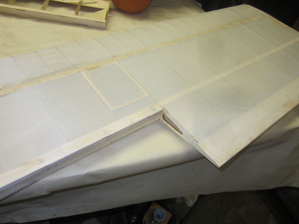 How To Cover Wings with Fabric -- Sopwith Camel Build-along -- Part 21