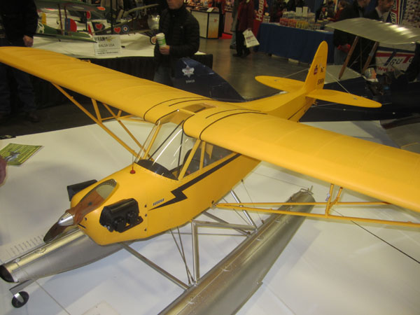 J-3 Cub Floatplane - WRAM Show coverage  - Piper Cub