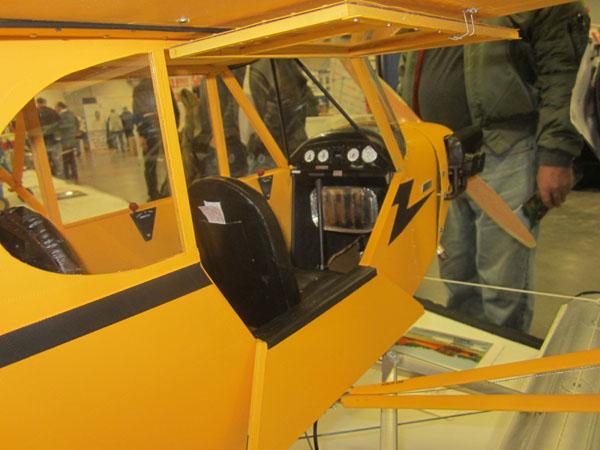 J-3 Cub Floatplane - WRAM Show coverage  - Piper Cub