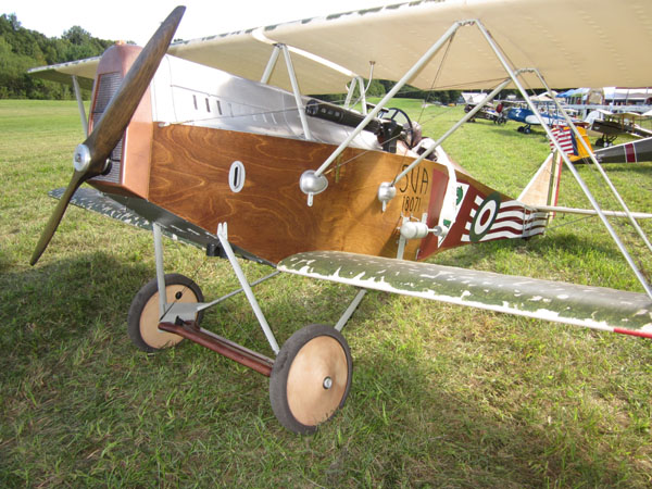 Video Interview -- Rich Fieroldi at Old Rhinebeck Aerodrome