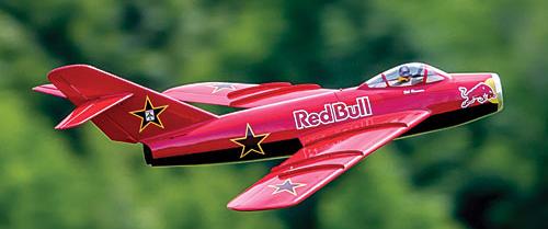 MiG-17 Fresco — DIY E-Jet
