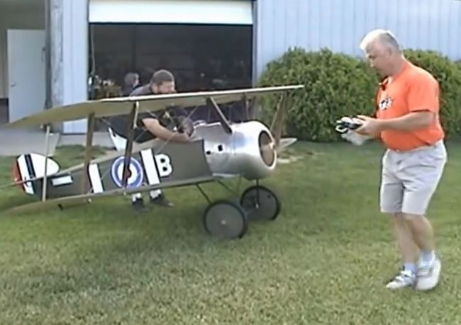 Half-Scale RC Sopwith Camel — Video of the Day
