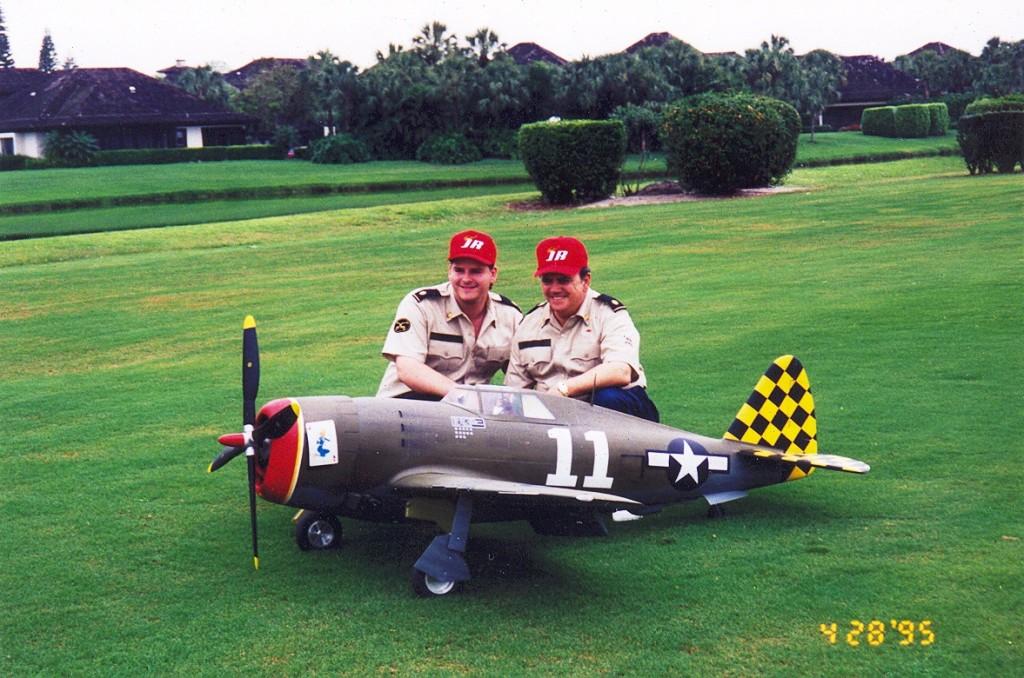 1995 TOP GUN TEAM (6)  Road to Top Gun -- Dino DiGiorgio's Corsair - RC Scale Airplane Competition