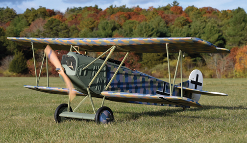 How to: Make WWI Warbird Lozenge Camouflage Covering