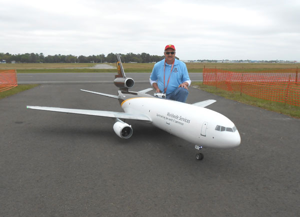Monster DC-10  — Robert Pannell's Best Electric Jet Performance Winner