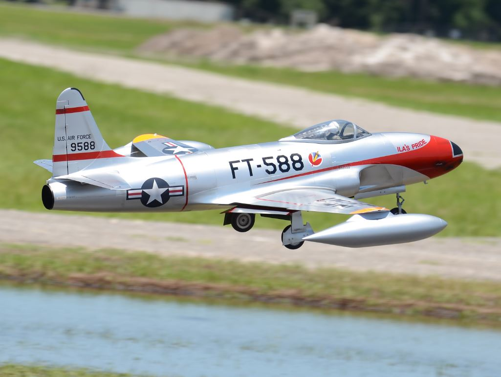 Road to Top Gun — Bob Violett, Lockheed F-80C Shooting Star