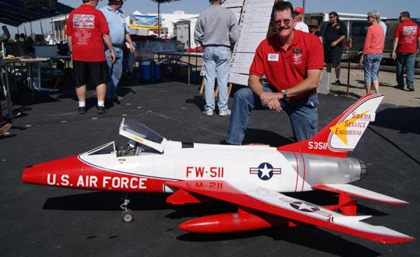 Road to Top Gun — Rod Snyder — North American F-100D Super Sabre