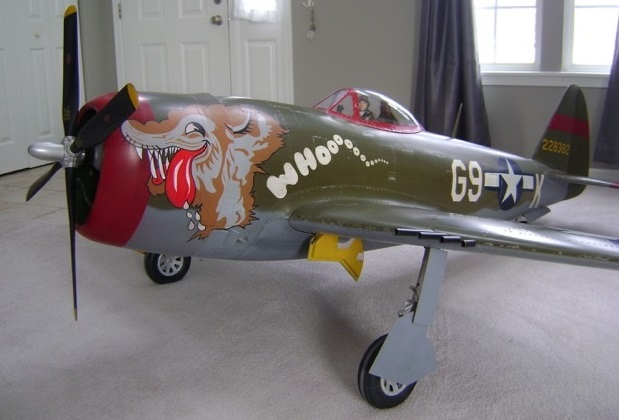Road to Top Gun -- Greg Wright -- Bubbletop P-47 Thunderbolt - RC Scale Airplane Competition