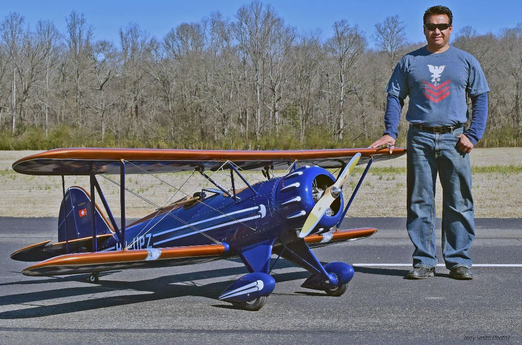 Scale RC – Wonderful WACO YMF-5