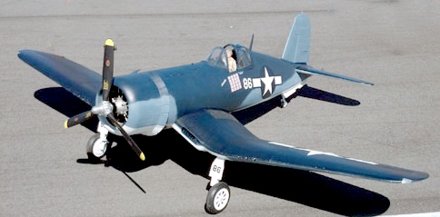 Road to Top Gun — Rene Alvarez — F4U Corsair