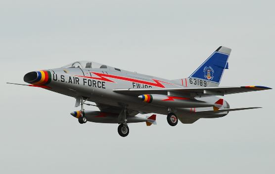 Road to Top Gun — Marco Benincasa — North American F-100 Super Sabre