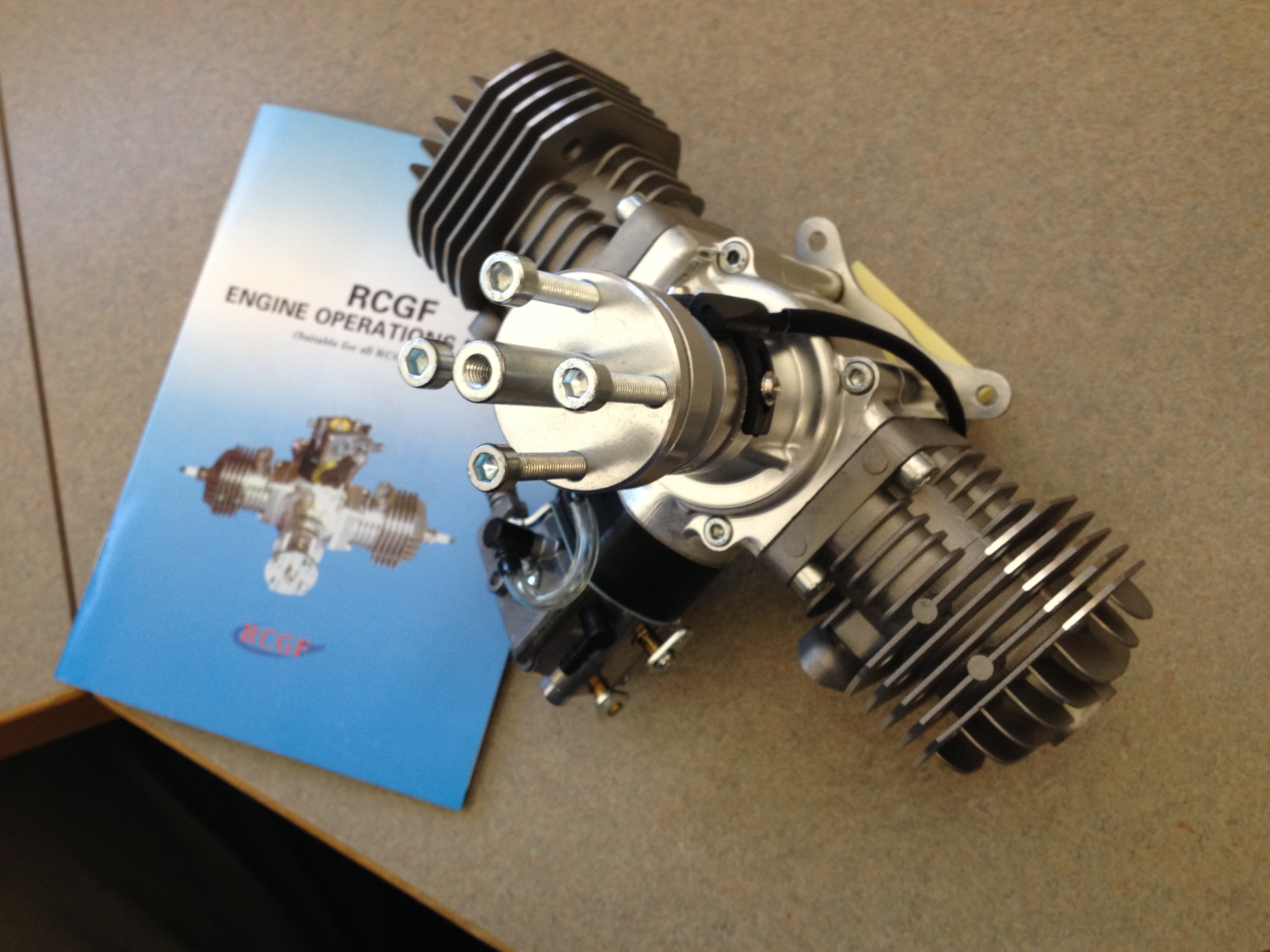 40cc Twin Boxer from RCGF USA – In for Review