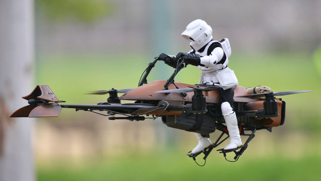 Star Wars Storm Trooper Rides Again!