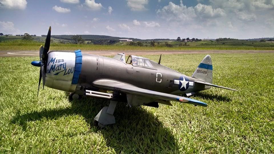 Road to Top Gun: Fernando Caveira's P-47 Thunderbolt