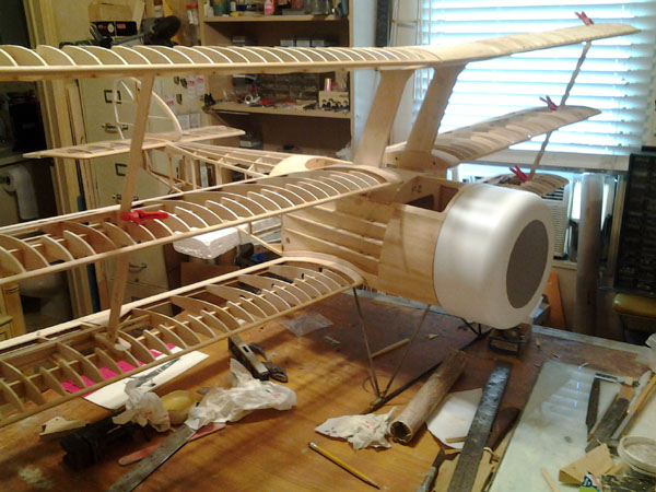 RC Giant Scale - Nick Ziroli's New Triplane