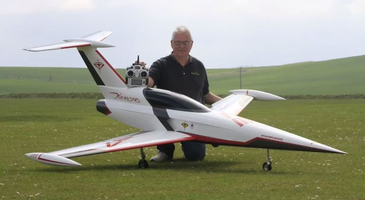 Futuristic RC Jet Takes Flight