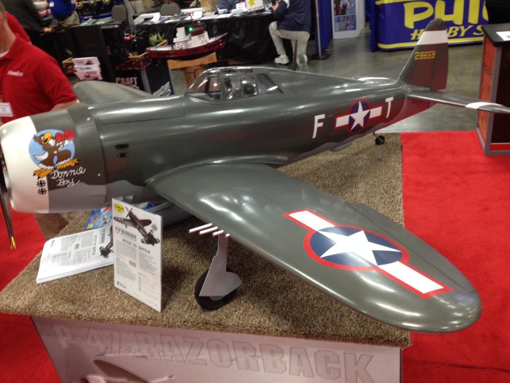 P-47 Thunderbolt Razorback from Top Flight