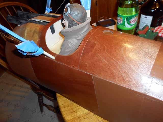 Workshop Build-Along — Sopwith Camel — Applying Plywood Panels –Part 24