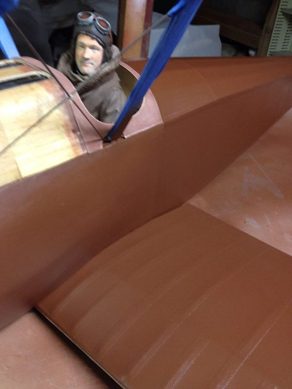 RC Workshop Build-Along -- Sopwith Camel Painting