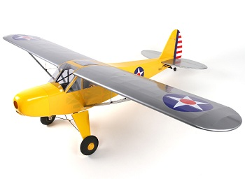 HobbyKing Piper J-3 Cub Balsa GP/EP 1620mm (ARF)