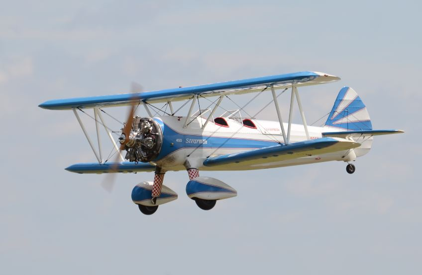 Best Civilian Stearman Mike Fetyko