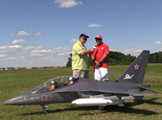 Top Gun Video Interview — Randy Clark and his Yak 130