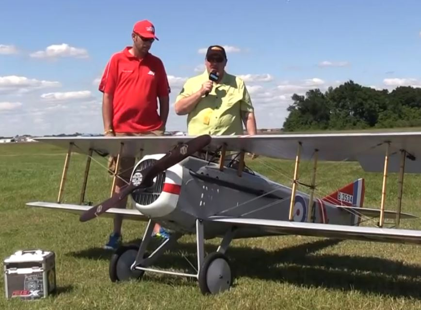 Top Gun Video Interview — David James and his Spad VII