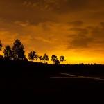 Evening Over Triple Tree
