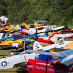 A few of the several thousand aircraft at Joe Nall 2015.