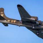 B-17 flown by Max Moxey at Joe Nall 2015