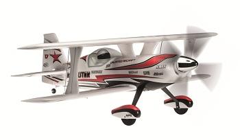 Hitec Multiplex Rockstar Biplane (RR And Kit)