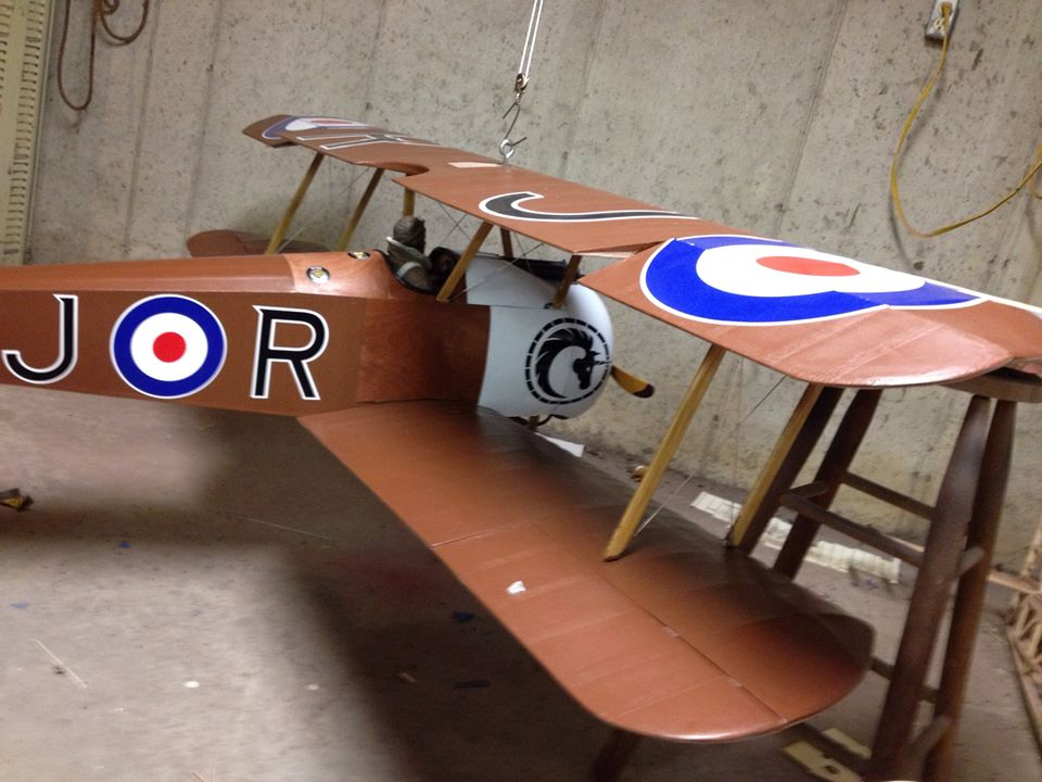 Workshop Build-Along — Sopwith Camel — Part 29: Balancing the CG