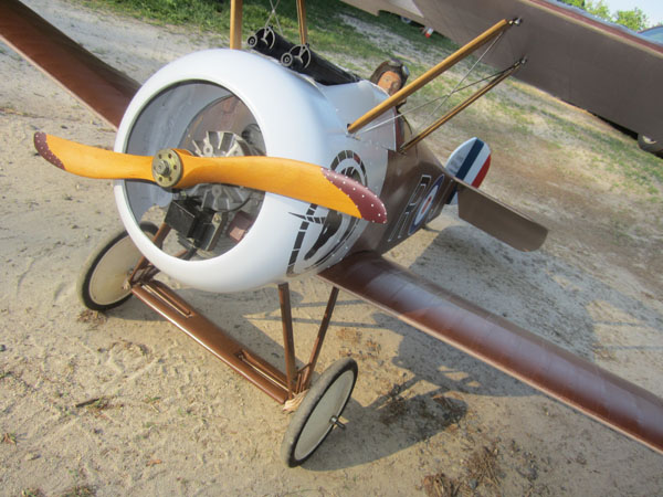 Workshop Build-Along — Sopwith Camel — Part 26, Bungees Cords and Bracing Wires
