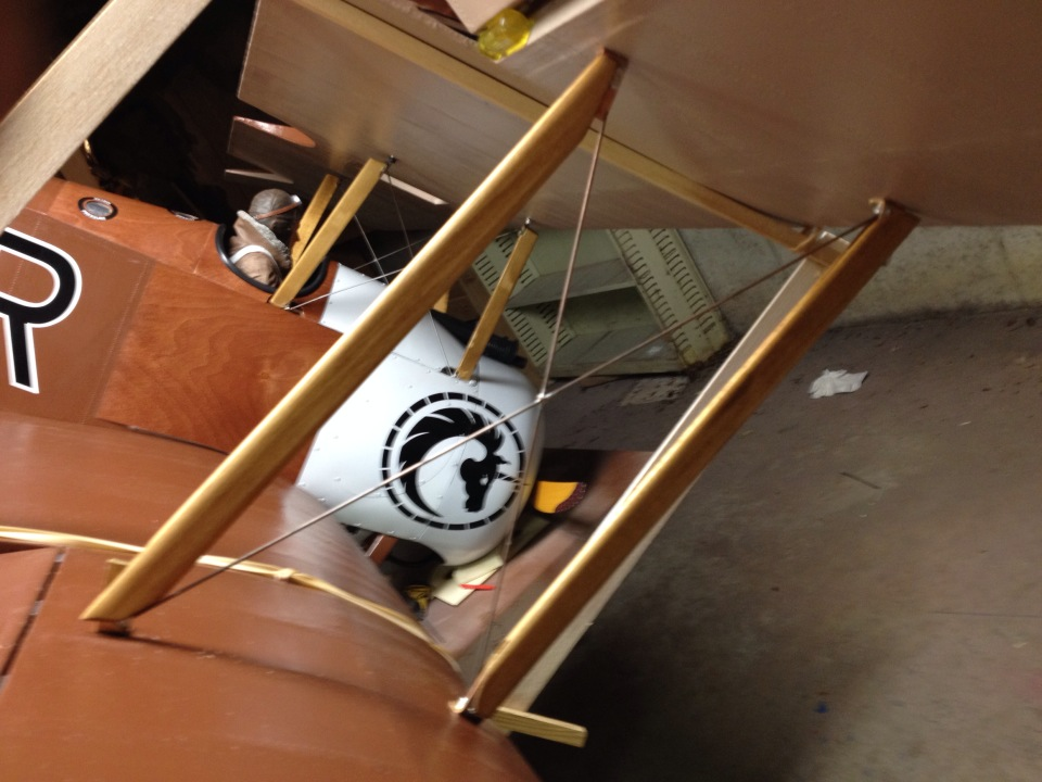 Workshop Build-Along — Sopwith Camel — Part 27: Interplane Struts