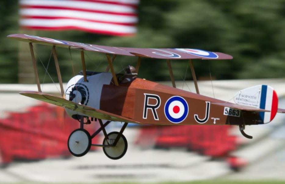 Sopwith Camel with Demon Cortex Stabilization