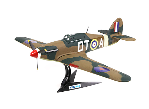HobbyKing Hawker Hurricane Mk1a 700mm 4 Channel Scale Fighter