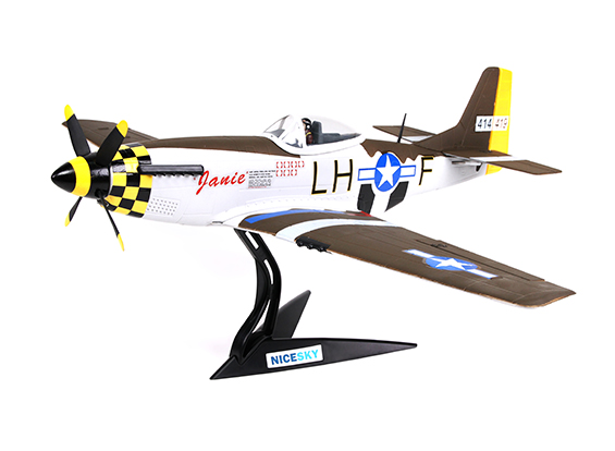 "HobbyKing North American P-51D Mustang ""Janie"" 680mm 4 Channel Scale Fighter"