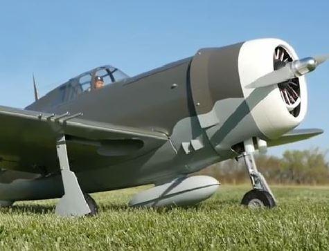Exclusive — Top Flite Gold Edition Giant Scale P-47 Thunderbolt Razorback — Sneak Peek