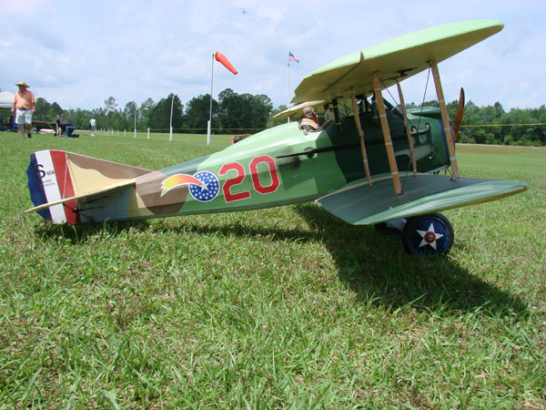 Balsa USA SPAD XIII  - Dawn Patrol over the Glen WW1 Meet