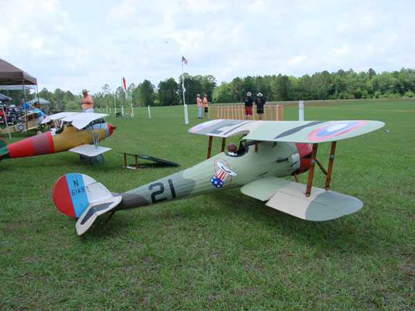 Balsa USA Nieuport - Dawn Patrol over the Glen WW1 Meet