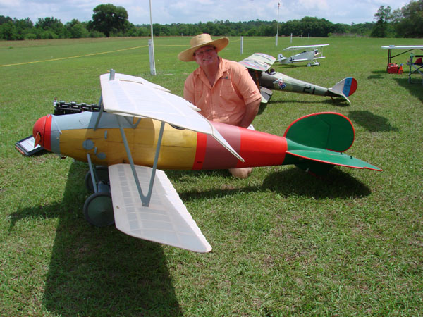 Balsa USA 1/3-scale Albatros  - Dawn Patrol over the Glen