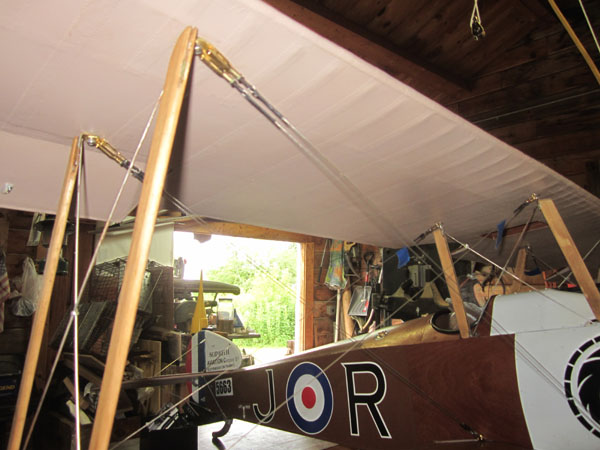 Functional Biplane Rigging Wires
