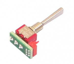 Jeti Transmitter Replacement Long Switch Spring-Loaded 3-Position DC