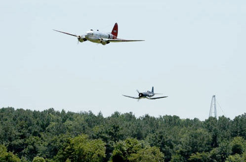 Warbirds over Delaware Flightline Highlights & Videos