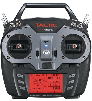 Video: Tactic TTX850 8-Channel 2.4GHz SLT Computer Radio