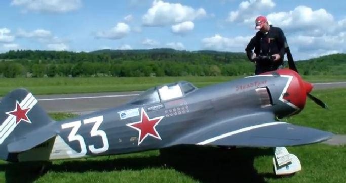 "Russian Racer: Yak-11 ""Steadfast"""