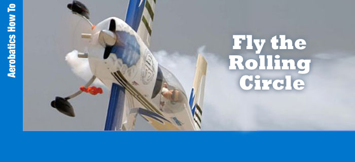 RC Aerobatics – The Rolling Circle