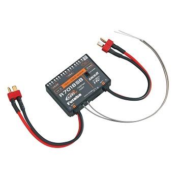 Futaba R7018SB 2.4GHz FASSTest Dual Battery Receiver